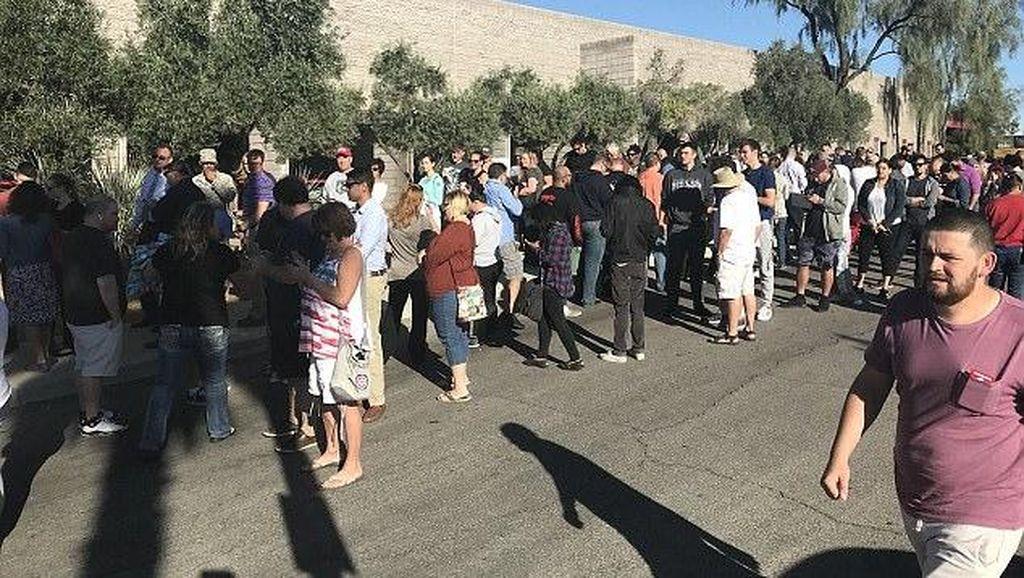 Antrean Panjang Pendonor Darah Usai Penembakan Brutal di Las Vegas