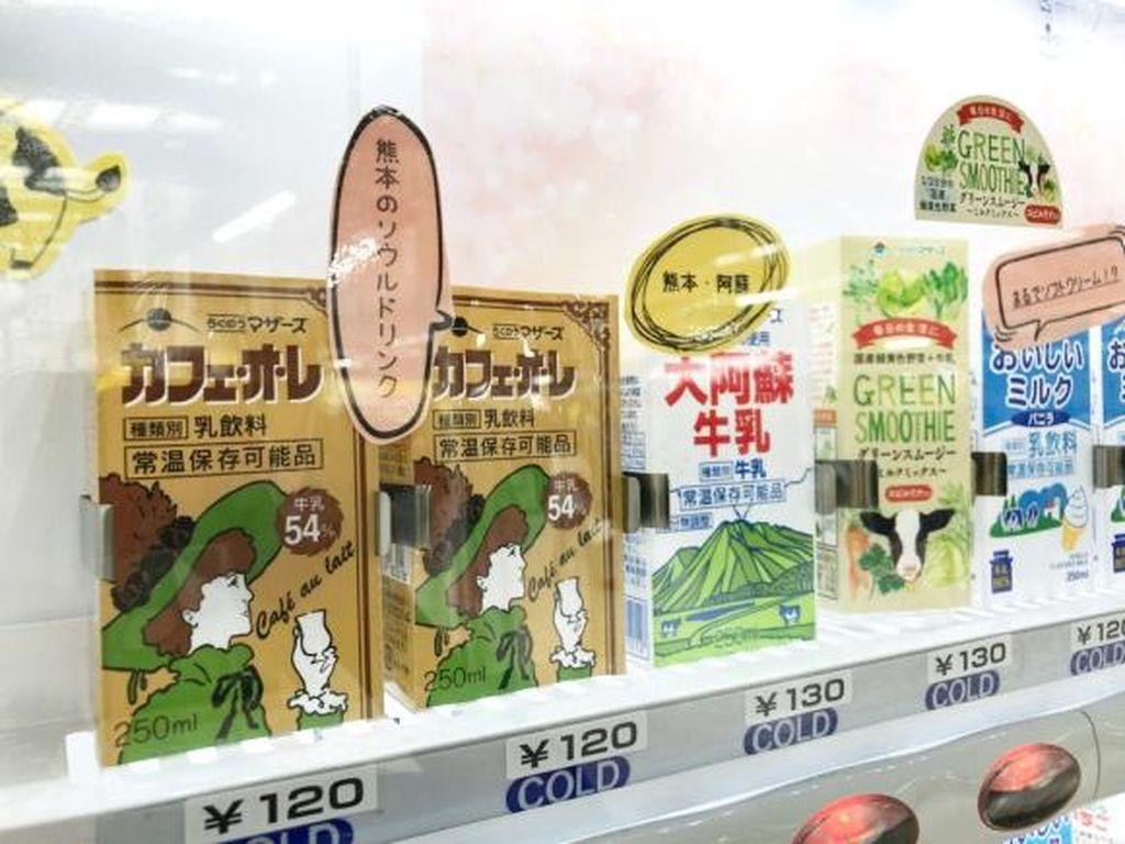 Di Stasiun Ini Ada Surga Bagi Penggemar Susu Jepang!