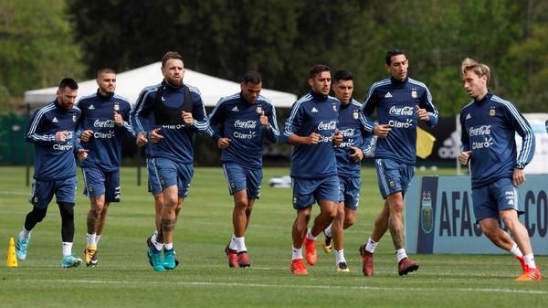 Argentina Pastikan Akan Menyerang Sejak Awal