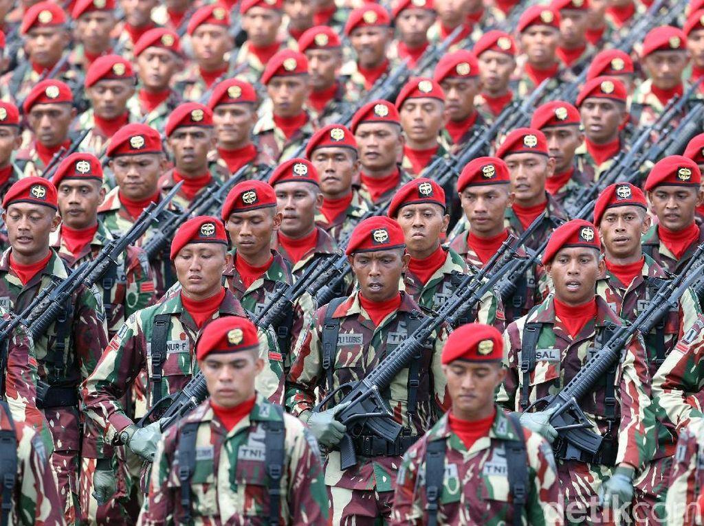 Jokowi Teken Perpres Jabatan Fungsional TNI