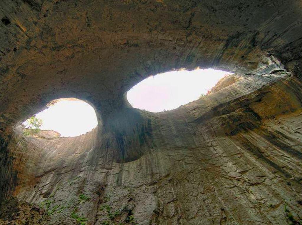 Foto: Lubang yang Disebut Mata Tuhan