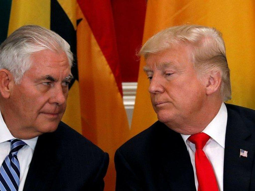 Rentetan Ketegangan Trump-Menlu AS, Dikatai Bodoh Hingga Adu IQ