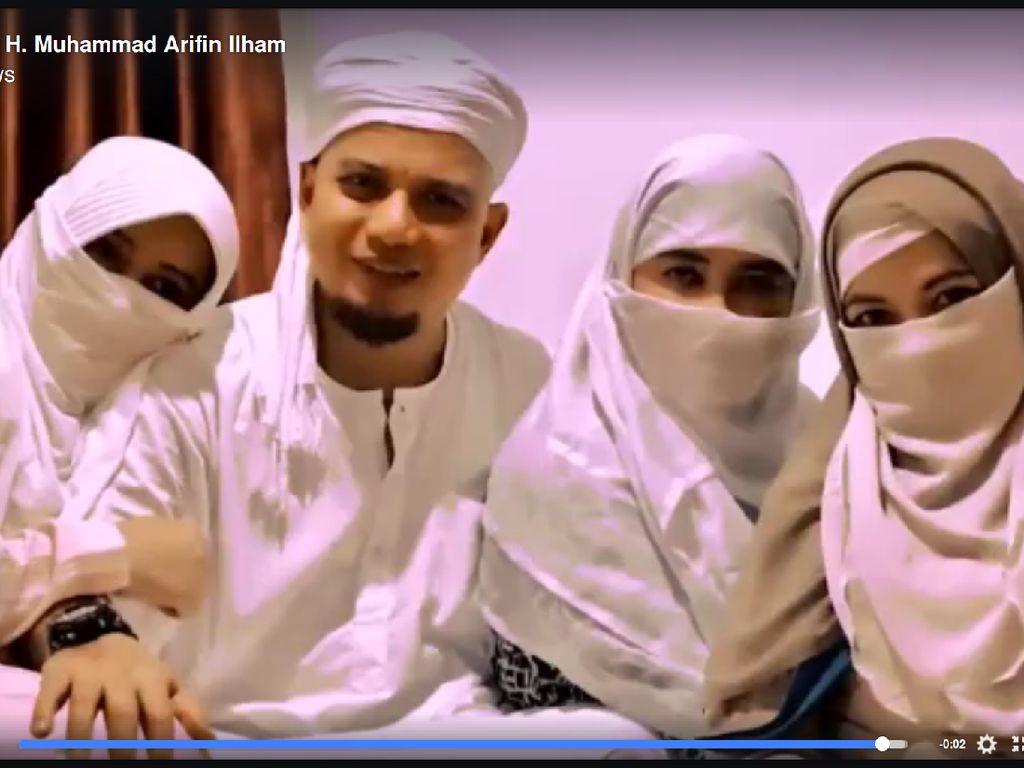 Keluarga Mendiang Ustaz Arifin Ilham Bicara Isu Perselisihan Antar Istri