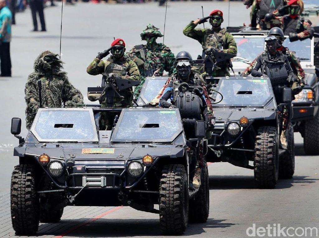 DPR Dukung Pelibatan Pasukan Super Elite TNI Berantas Terorisme