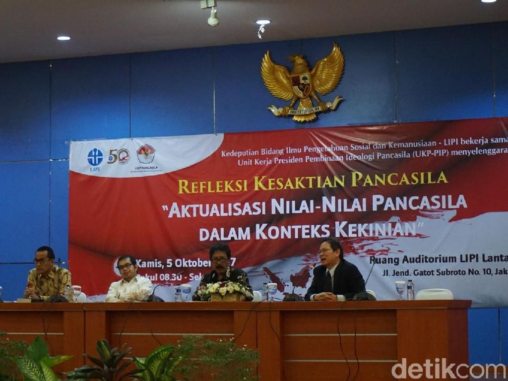 Refly Harun Bicara soal Tafsir Pancasila dalam Konteks Kekinian