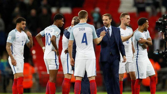 Timnas Inggris di Piala Dunia 2018 banyak diisi pemain muda (Foto: Carl Recine/Reuters)