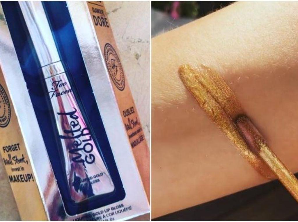 Wow, Too Faced Rilis Lipstik yang Kandungannya dari 100% Emas