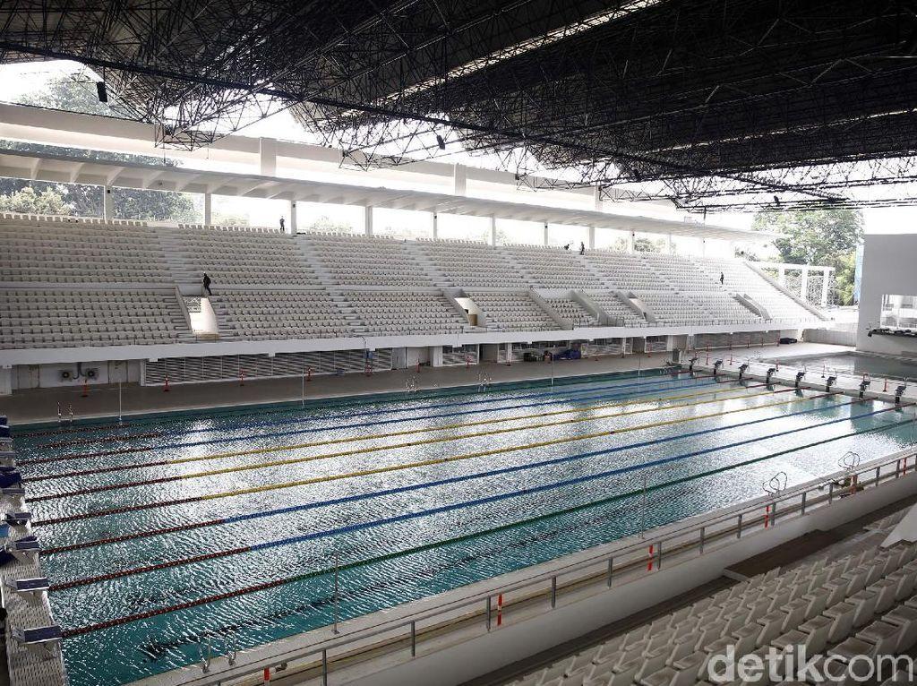 Triady Fauzi Soroti Lantai Stadion Akuatik yang Licin