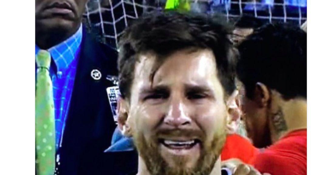 Argentina Terancam, Messi Laris Jadi Bahan Meme