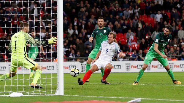 Gol Kane di Injury Time Loloskan Inggris ke Putaran Final
