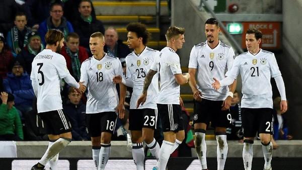 Lolos ke Rusia, Jerman Siap Pertahankan Trofi Piala Dunia