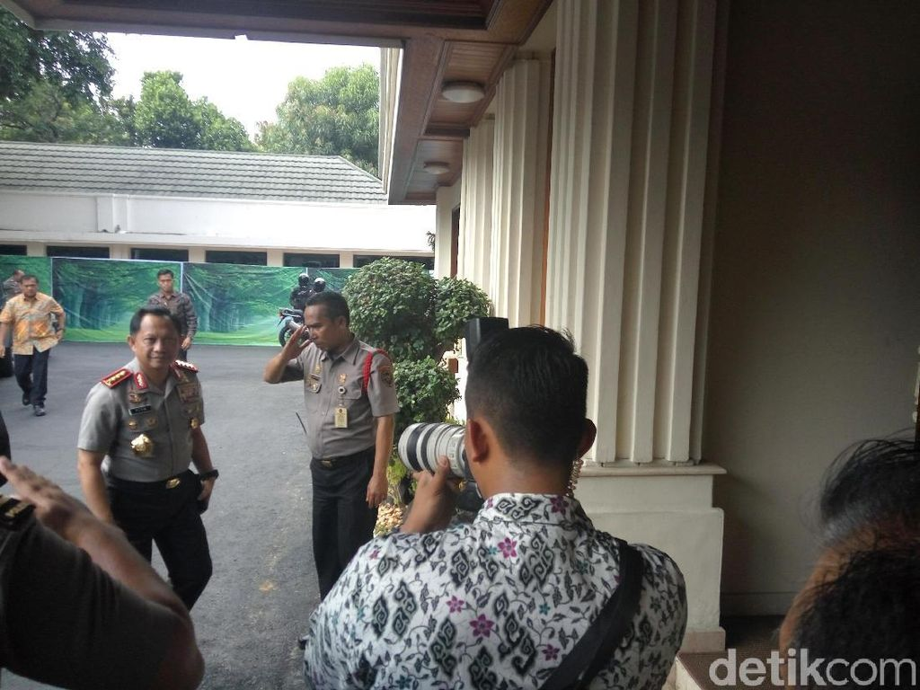 Wiranto, Kapolri, Panglima TNI, dan KaBIN Rapat Bahas Impor Senjata