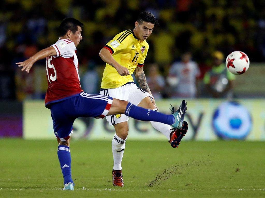 Kolombia Dikalahkan Paraguay 1-2