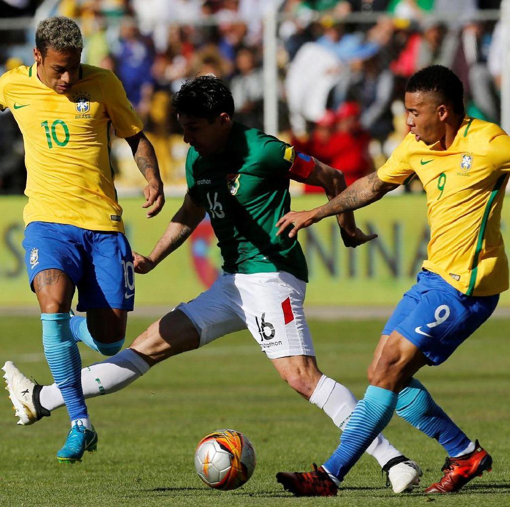 Brasil Salah Satu Tim Unggulan di Piala Dunia 2018
