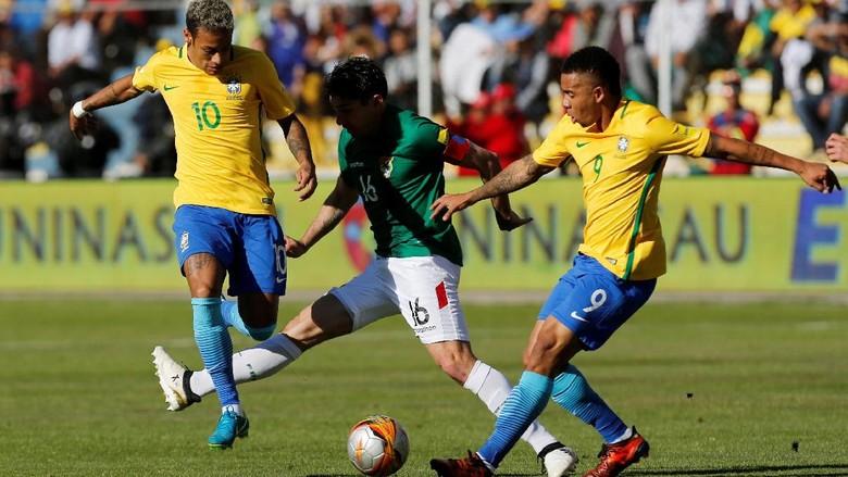 Brasil Diimbangi Bolivia Tanpa Gol