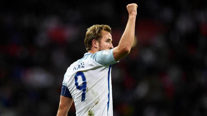 Harry Kane jadi pesepakbola Inggris terbaik 2017 (Dylan Martinez/Reuters)