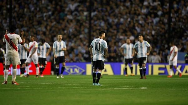 Sudah Enam Bulan Lebih Argentina Tidak Mencetak Gol