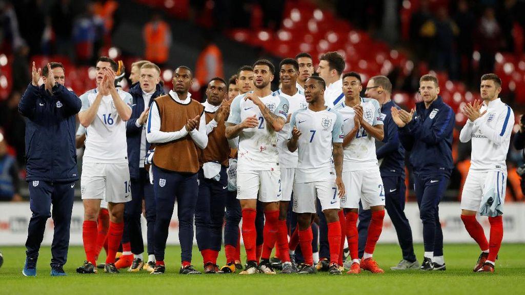 Inggris Tampil Tanpa Beban di Piala Dunia