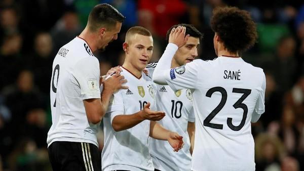 Kalahkan Irlandia Utara, Jerman Melaju ke Putaran Final