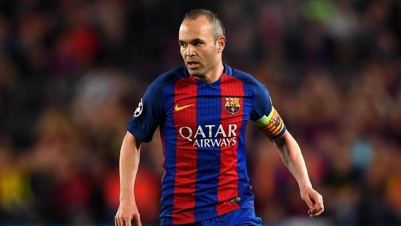 Iniesta Selamanya Barcelona