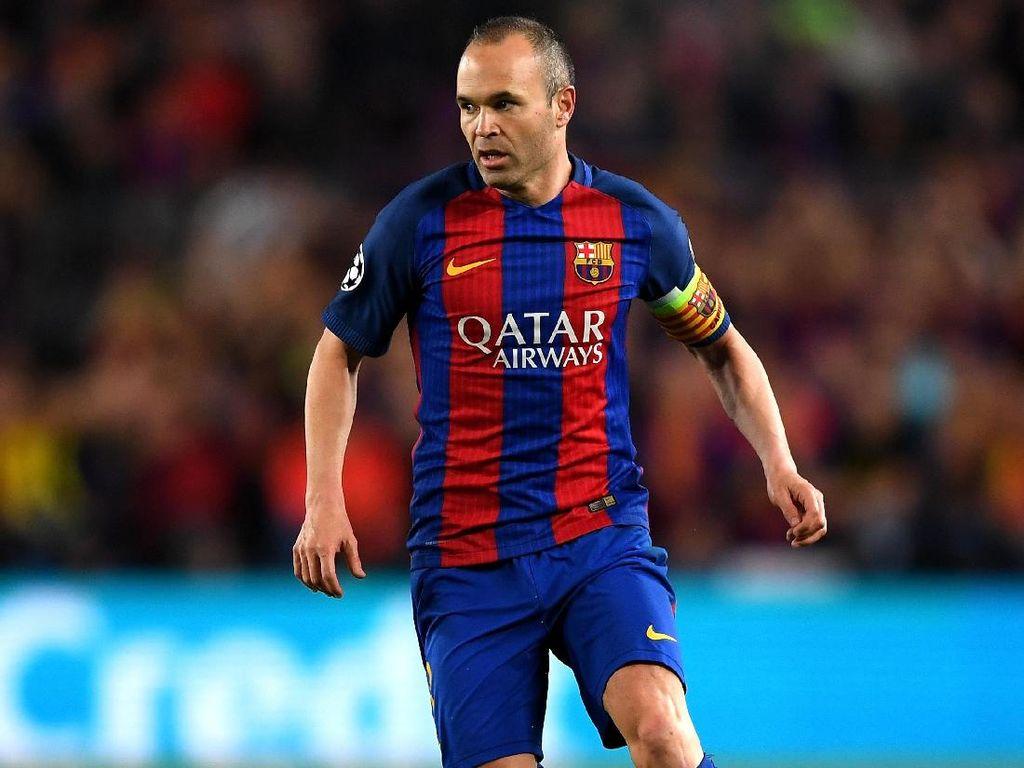El Clasico yang ke-37 untuk Iniesta