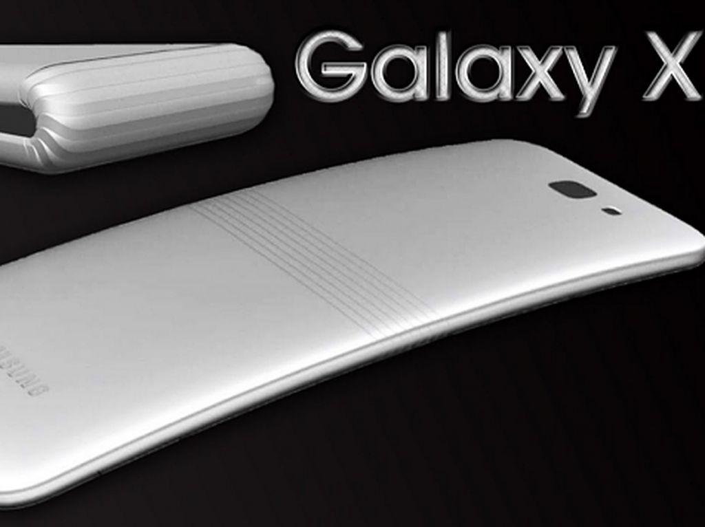 Ponsel Layar Lipat Samsung Muncul Tahun Depan, Tapi...
