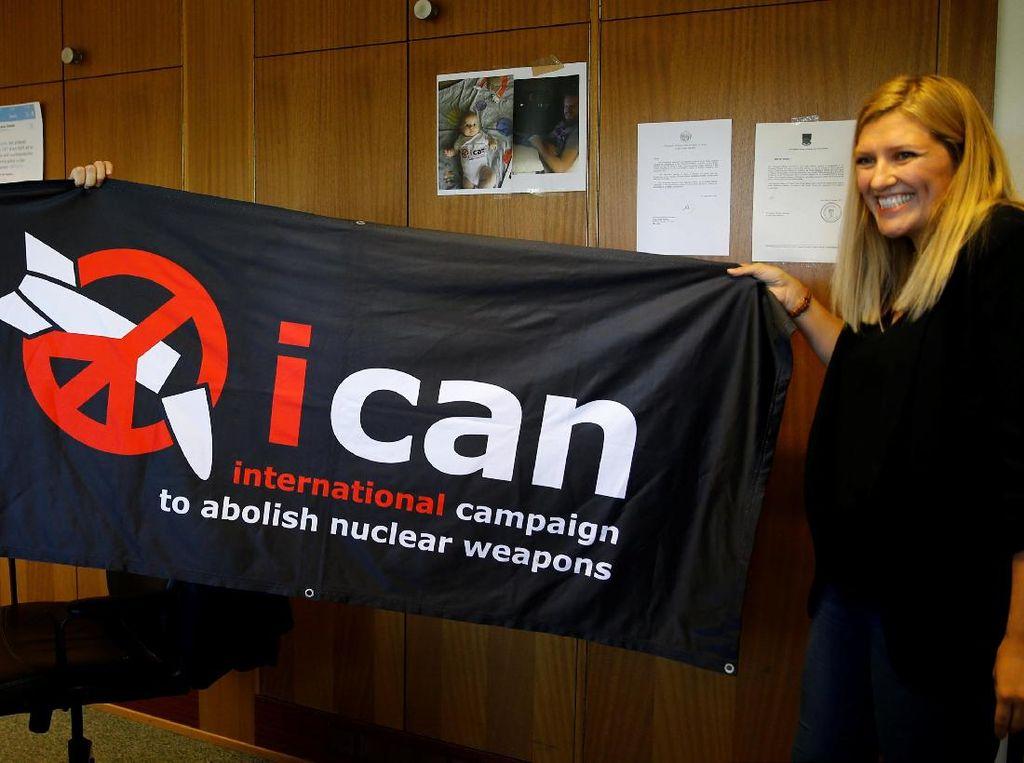 Kelompok Anti Senjata Nuklir ICAN Raih Nobel Perdamaian 2017