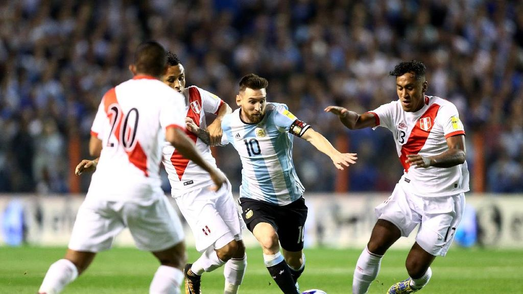 Messi Melempem, Argentina pun Mejan