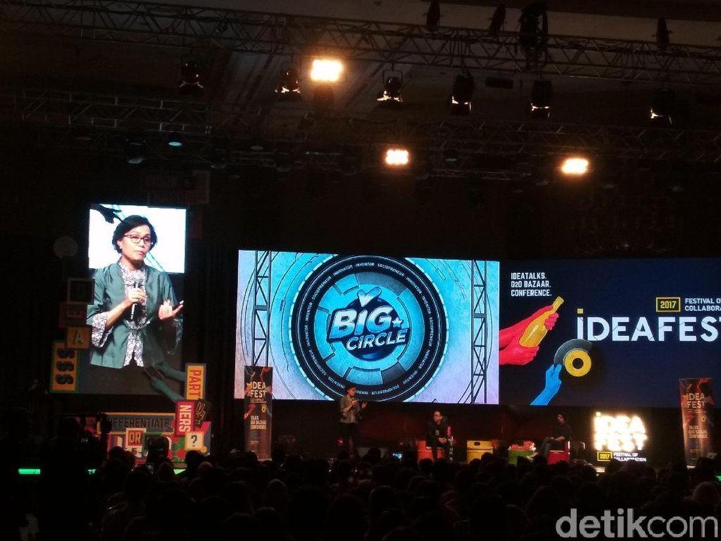 Jokowi Beri Pesan Khusus ke Sri Mulyani Soal Industri Kreatif