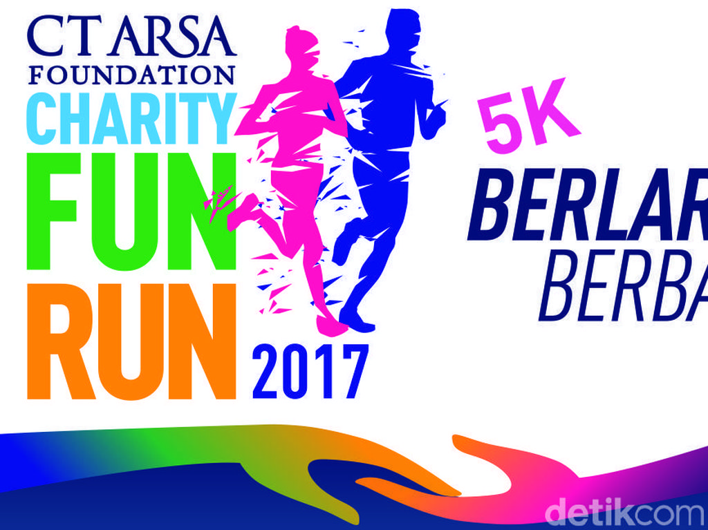 Rasakan Sensasi Lari Dikejar Zombie di CT ARSA FOUNDATION Charity Fun Run