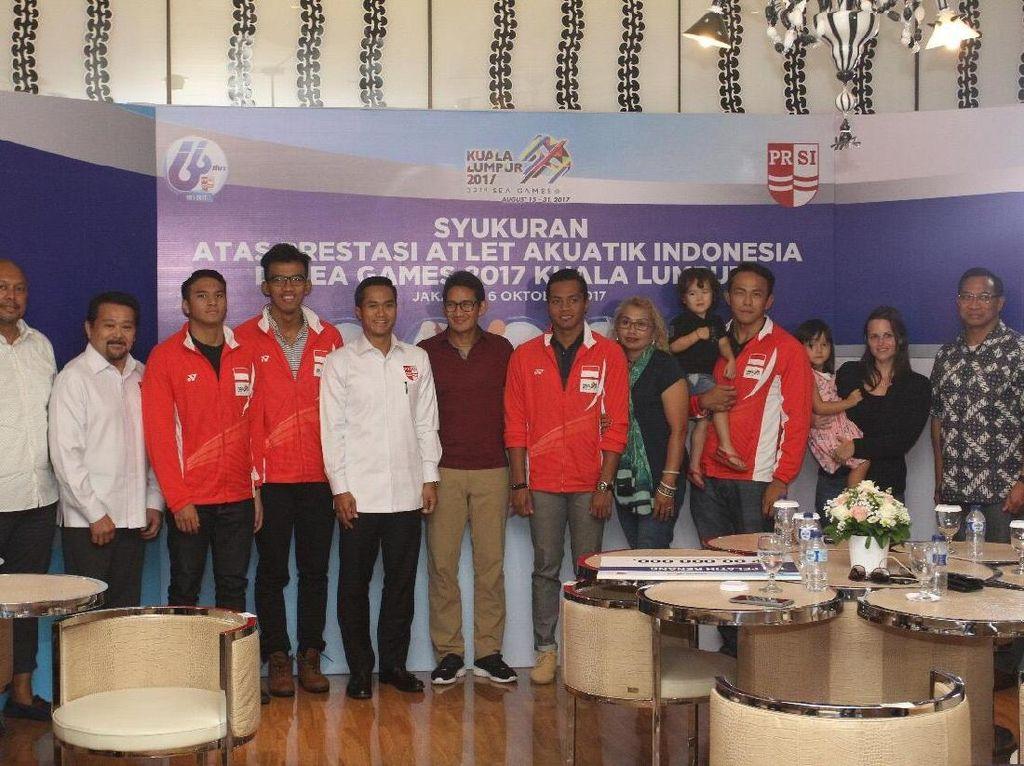 PRSI Cairkan Bonus untuk Peraih Emas SEA Games 2017