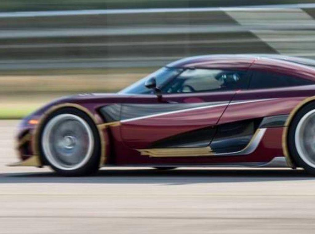 Koenigsegg Tantang Rekor Ngebut Bugatti Chiron