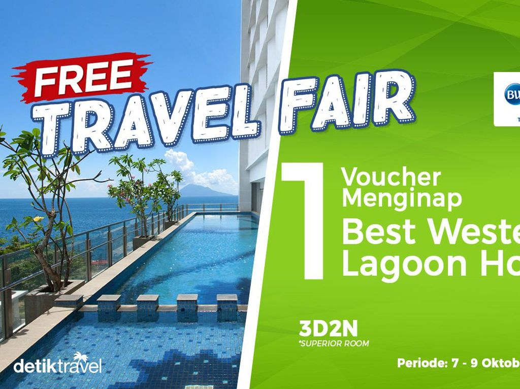 #FreeTravelFair : Gratis Tidur di Best Western The Lagoon Hotel