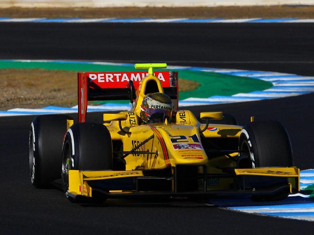 Sean Gelael Finis ke-16 di Jerez