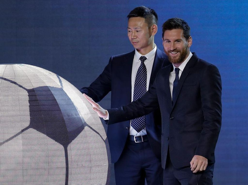 Taman Hiburan Lionel Messi Dibuka Tahun 2020 di China