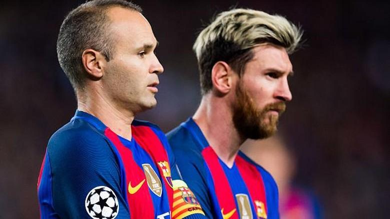Sudah Teken Kontrak Baru, Iniesta Berharap Messi Segera Menyusul