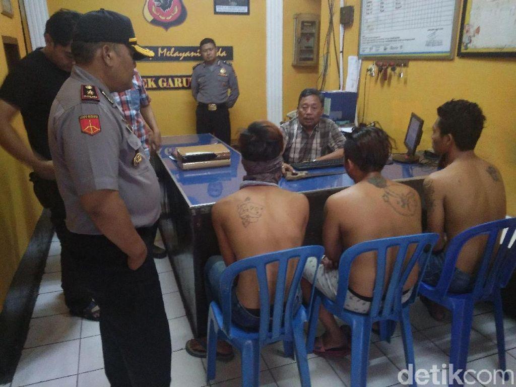 3 Pemuda Spesialis Bobol Minimarket di Garut Diciduk Polisi