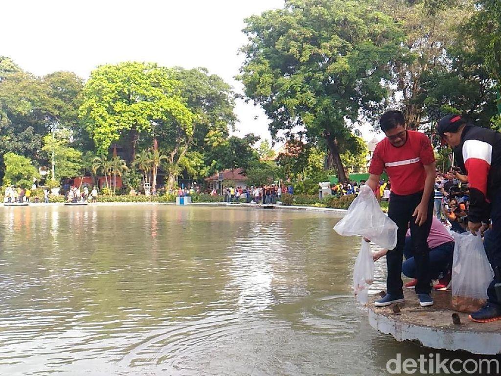 Djarot ke Pemancing Situ Lembang: Jangan Pakai Setrum!