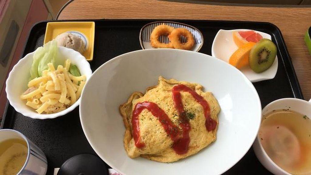 Bikin Iri! Menu Rumah Sakit di Jepang Ini Tampilannya Mirip Makanan Restoran