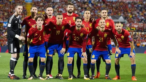 Spanyol Lolos ke Piala Dunia untuk ke-11 Kalinya Secara Beruntun
