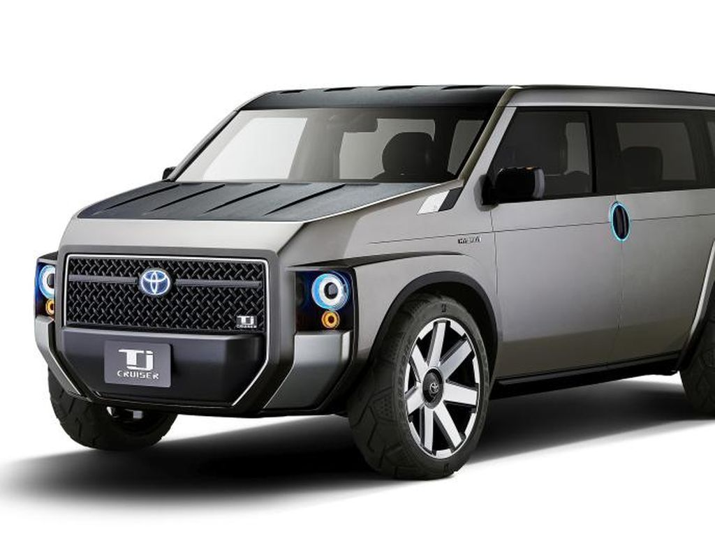 Kerennya Crossover Terbaru Toyota TJ Cruiser