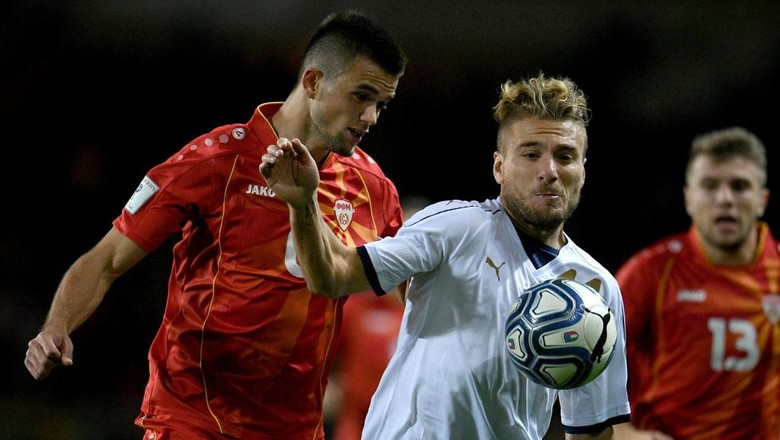 Italia Diimbangi Makedonia 1-1