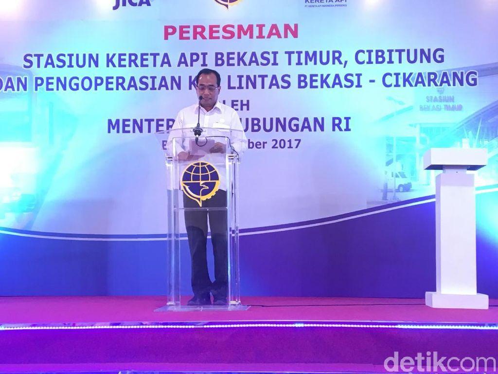 Resmi Operasi, KRL dari Jakarta Melaju Sampai Cikarang