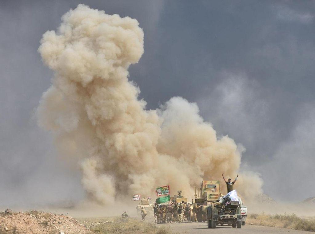 Potret Perlawanan Terakhir ISIS di Hawija: Ledakan di Mana-mana