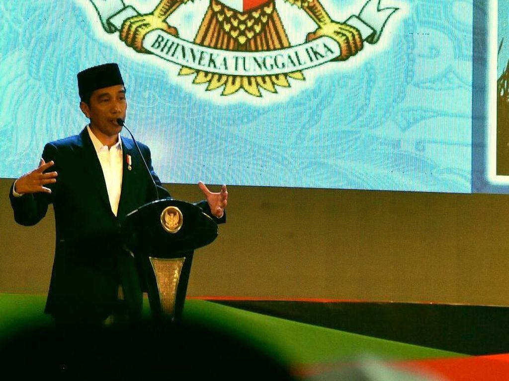 Jokowi ke Anak-anak: Bila Orang Tak Dikenal Tawarkan Permen, Tolak!