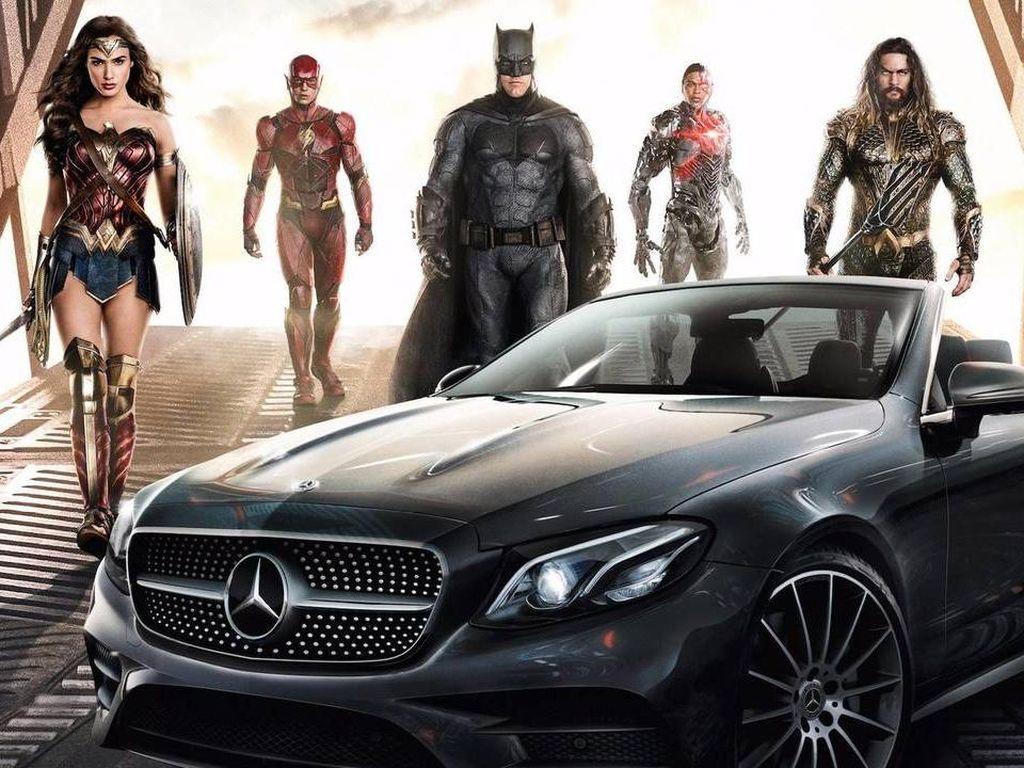 Ini Tunggangan Supercar Para Superhero di Justice League