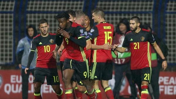 Belgia Atasi Bosnia 4-3