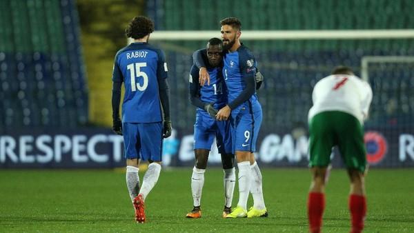Gol Cepat Matuidi Menangkan Prancis atas Bulgaria
