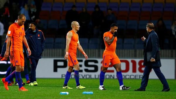 Robben: Belanda Mustahil Lolos ke Piala Dunia 2018