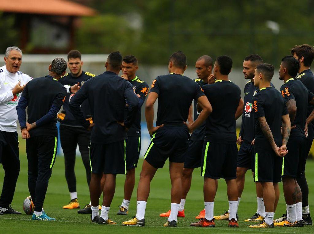 Brasil Ingin Hindari Siapa di Fase Grup? Ini Kata Tite